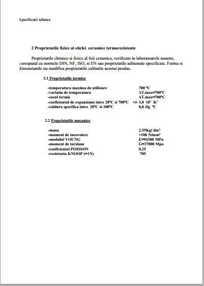 certificat de garantie extras in lb romana