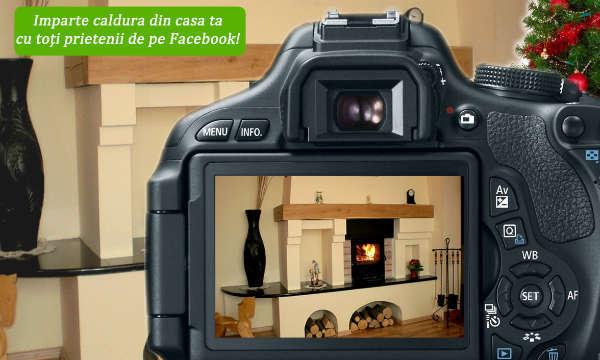 Concurs foto camera usi de semineu: Impartasiti de sarbatori momentele calduroase photo 600x360 px