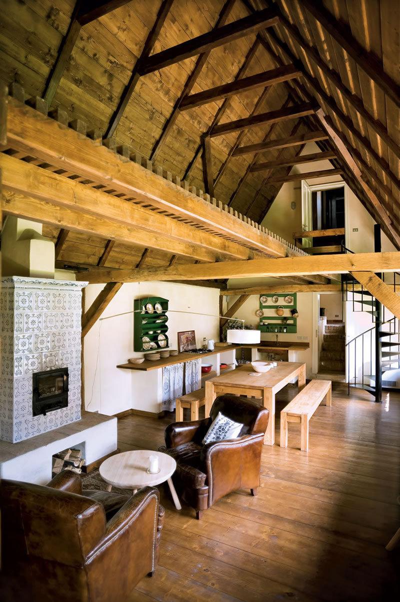semineu traditional usa de semineu favorit amenajare interioara casa traditionala renovata